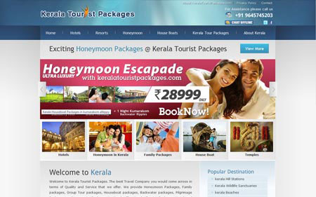 Kerala Tourist Packages